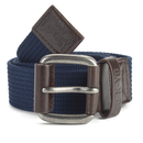 Tokyo Laundry Men's Fredo Canvas Belt - Midnight - S/M