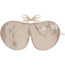 Image of Holistic Silk Lavender Eye Mask - Bronze Blossom 5060339330174