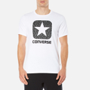 Converse Mens All Star Shield Reflective Rain Box Star TShirt  White  S