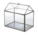 Nkuku Miro Greenhouse - Antique Zinc - Small