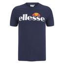 Ellesse Men's Arameo Logo T-Shirt - Navy