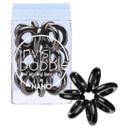 invisibobble Nano Hair Tie (3 Pack) - True Black