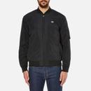OBEY Clothing Mens Alden Bomber Jacket  Black  S