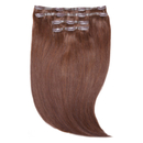 """Beauty Works Jen Atkin Invisi-Clip-In Hair Extensions 18"""" - Chocolate 4/6"""