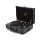 GPO Retro Ambassador Brief Case Turntable  GreenBlack