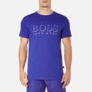 BOSS Hugo Boss Mens Large Logo TShirt  Medium Blue  M