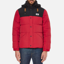 Penfield Mens Bowerbridge Two Tone Jacket  Red  S
