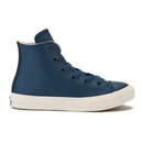 Converse Kids Chuck Taylor All Star II HiTop Trainers  Athletic NavyParchmentAlmost  UK 10 Kids