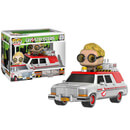 Ghostbusters 2016 Ecto-1 Vehicle with Jillian Holtzmann Pop! Vinyl Figure