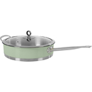 973032 Accents 28cm Saute Pan - Green Gris