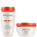 Kérastase Nutritive Bain Satin 2 250ml & Masquintense Cheveux Epais (For Thick Hair) 200ml
