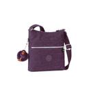 Kipling Womens Zamor Cross Body Bag  Plum Purple