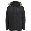 Jack Wolfskin Mens Ross Island 3in1 Jacket  Black  L