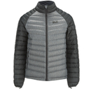 Jack Wolfskin Mens Zenon Altis Down Jacket  Ebony  S