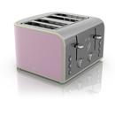 Swan ST17010PN 4 Slice Retro Toaster  Pink