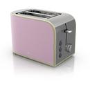 Swan ST17020PN 2 Slice Retro Toaster  Pink