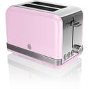Swan ST19010PN 2 Slice Toaster  Pink
