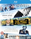 Universal Pictures Everest/Theory Of Everything/Wolf Of Wall Street/Steve Jobs/Unbroken Boxset