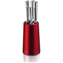 Swan Knife Block  Red (5 Piece)