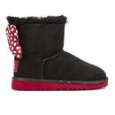 UGG Kids Sweetie Bow Disney Boots  Black  UK 1 Kids