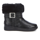 UGG Toddlers Gemma Patent Leather Boots  Black  UK 5 Toddler