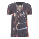 DC Comics Men's Batman Harley Quinn T-Shirt - Black