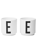 Design Letters Egg Cups  Set Of 2