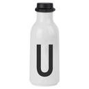 Design Letters Water Bottle - U