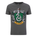 T-Shirt Homme Harry Potter Serpentard Bouclier - Gris