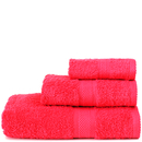 Restmor Knightsbridge 100 Egyptian Cotton 3 Piece Towel Bale Set (500gsm)  Red