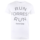 Forrest Gump Men's Run Forrest T-Shirt - White