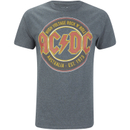 AC/DC Men's Est 73 T-Shirt - Dark Heather - M