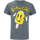 Fat Boy Slim Men's Ice Lolly T-Shirt - Dark Heather - L