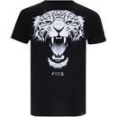 Cotton Soul Men's Leopard T-Shirt - Black - XL