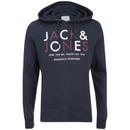 Sweat à Capuche Jack & Jones pour Homme Core Noah -Marine