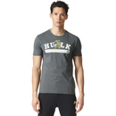 adidas Men's Hulk Training T-Shirt Green S