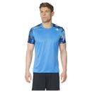 adidas Men's Response Graphic Running T-Shirt Blue S
