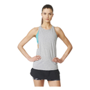 adidas Womens Performer Training Tank Top  Grey  S
