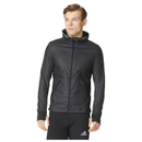 adidas Men's Pure Amp Running Jacket Black XL