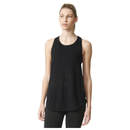 adidas Women's Deep Armhole Training Tank Top Black XS