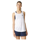 adidas Womens Lightweight Training Tank Top  White  XS