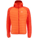 Haglofs Mens Essens Mimic Hooded Jacket  CayenneHabanero  XXL