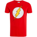 DC Comics Men's Flash T-Shirt - Red