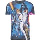 star-wars-herren-classic-poster-t-shirt-schwarz-m-schwarz