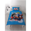 Batman v Superman Clash Panel Duvet Set - Single