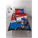 Captain America: Civil War Panel Duvet Set - Single