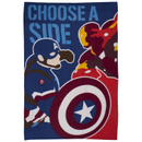 Captain America: Civil War Polar Fleece Blanket - 100 x 150cm