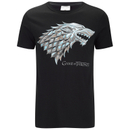 Game of Thrones Men's Stark Sigil T-Shirt - Black