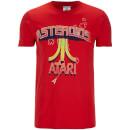 atari-men-s-asteroids-atari-vintage-logo-t-shirt-red-s-rot