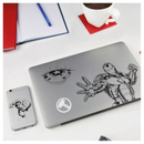 Marvel Gadget Decals Black / White